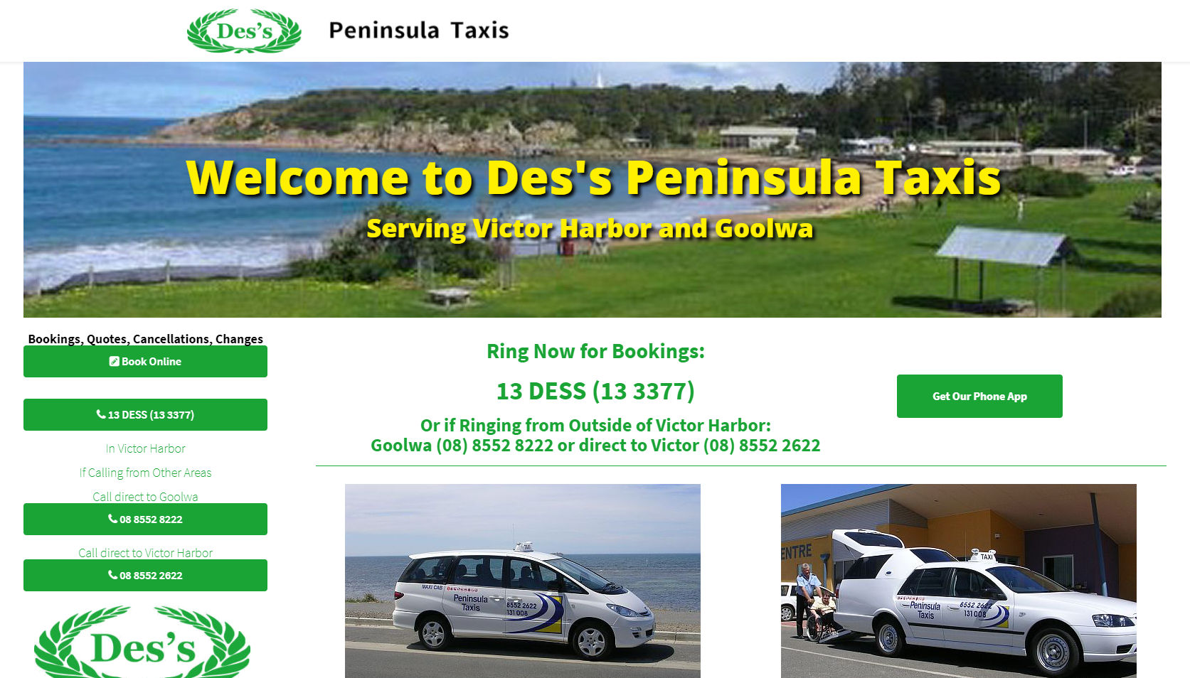 Des's Peninsula Taxis